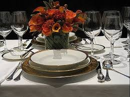Dining Table Set Up Formal Dining Table Set Up