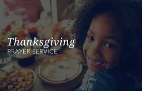 catholic thanksgiving a prayer service for children of all ages