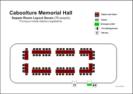 emergency exit floor plan template gallery caboolture memorial hall