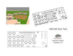 tent layouts deejay u0027s event rentals