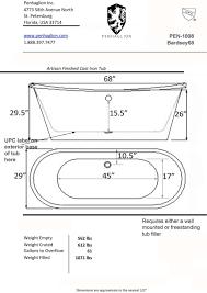 freestanding bathtub sizes 36 winsome bathroom set on freestanding