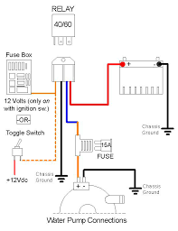 electric water pump wiring diagram diagram wiring diagrams for