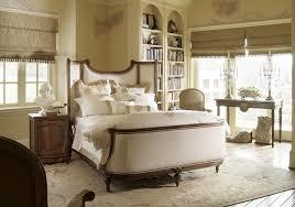 nightstand simple brown varnished wooden lux king size platform