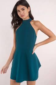 cocktail dress blush dress open back dress skater dress 34 tobi us