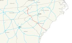 interstate 26 map interstate 26 wikiwand