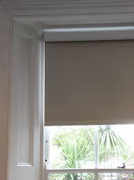 customer photos of alibi plain fabric roller blackout blinds