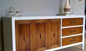 cabinet white modern credenza mesmerize white mid century modern