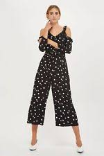 topshop jumpsuit topshop spotted jumpsuits playsuits for ebay