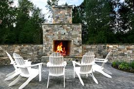 Outdoor Fire Place by Fireplace Systems Mutual Materials