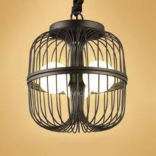 Birdcage Chandeliers Designer Black Painting Birdcage Chandelier Wrought Iron