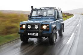 range rover defender end of watch one last run in the land rover defender 90