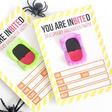 vampire teeth halloween invitations eighteen25