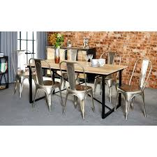 dining room sets with bench industrial dining table and bench large size of dining industrial