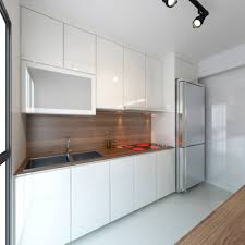 Kitchen Cabinet Design For Apartment Hdb 4 Room Bto Vintage Contemporary Punggol Emerald Interior