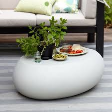 Pebble Outdoor Coffee Table Coffee Concrete And Patios