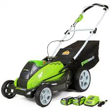 greenworks 2501302 40v g max cordless lithium ion 19 in 3 in 1