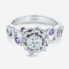 Amethyst Wedding Rings by Amethyst Wedding Ring Set Luxury Best Purple Wedding Rings Ideas