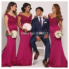 fuschia bridesmaid dress mermaid style bridesmaid dress biwmagazine