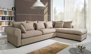 canapé d angle tissu beige canapé d angle droit ou gauche déhoussable en tissu coloris beige benji