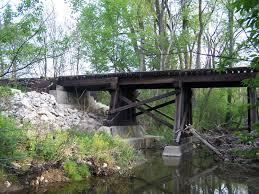 bridgehunter com c u0026o railroad taylor ditch bridge
