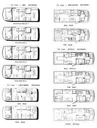 Motorhome Floor Plans Gmc Motorhome 2