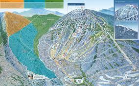 Big Sky Montana Map by Resort Maps Sugarloaf Dev