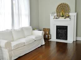 gray mirage paint white sofa living room pinterest benjamin