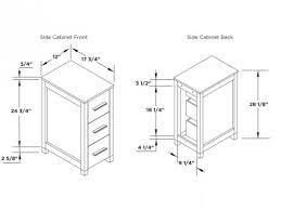 bathroom bathroom vanity cabinet dimensions on bathroom regarding