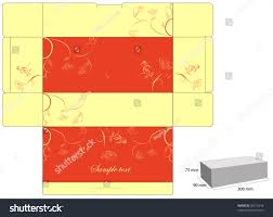 Yellow Decorative Box Decorative Box Die Cut Stock Vector 39217618 Shutterstock