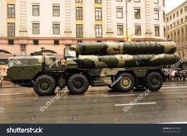 modern army vehicles modern ballistic nuclear missile on rehearsal stock photo 30515200