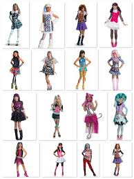 Monster High Halloween Costumes Girls Cute Costumes For Teenage Girls Teen Costumes Halloween