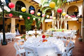 orlando wedding reception plaza de las palmas mission inn resort