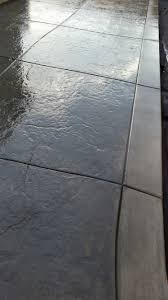 Patio Broom by Old Granite Texture With A 12