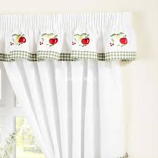 Kitchen Curtains With Fruit Design by Fruits Ready Made Kitchen Curtains Chiltern Mills
