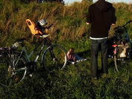 siege avant bebe velo famille les lyn à vélo