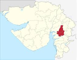Blank Map Of Delhi by Vadodara District Wikipedia