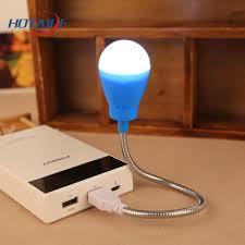 travel emergency portable lamp led night light usb bulb light desk