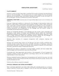 Executive Assistant Resumes 28 Resume Job Description Administrative Assistant