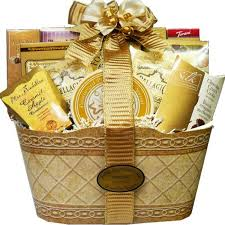 anniversary gift basket golden mix chocolates giftbaskets products dubai gifts