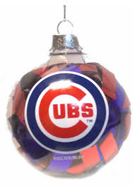 chicago cubs tree ornaments cubs ornament mlb
