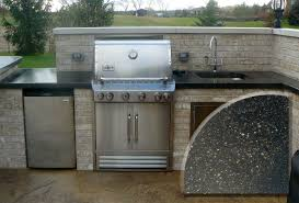 Outdoor Kitchen Countertops by Tri Stone Countertops
