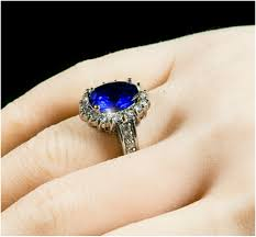 kate wedding ring kate royal sapphire blue cambridge engagement ring 7 carat