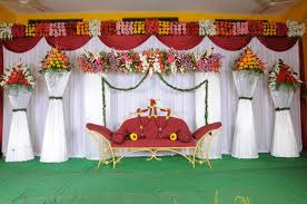 flower decoration in home wedding stage decoration ideas room design decor gallery at