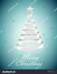 silver christmas tree background ne wall