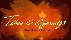 thanksgiving tithe