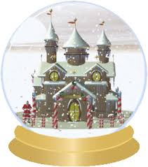 santa s house snow globe brian s animation