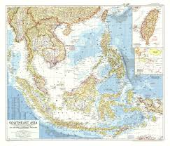Maps Of Southeast Asia by 1955 Southeast Asia Map Historical Maps