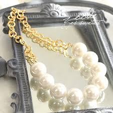 big pearl necklace wedding images E zakkamania stores spicy gold chain x and large faux pearl sweet jpg