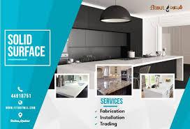 kitchen cabinet design qatar solid surface countertops qatar interior design companies