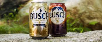 busch light aluminum bottles beer refreshes popular trophy can program celebrating the great outdoors